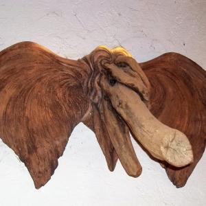 Jp baillieux elepantastique bois flotte et terre largerur 150 cm